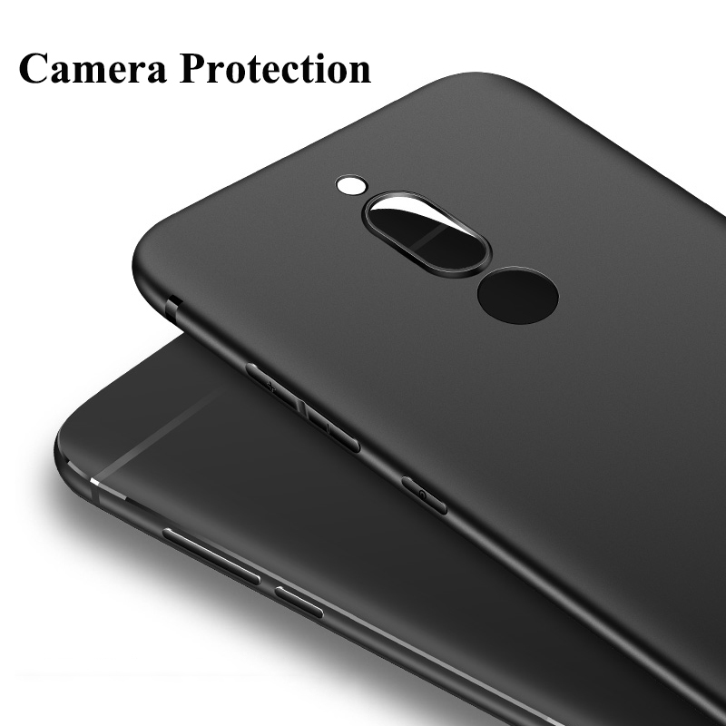 online store 8e631 3cef1 US $2.99 30% OFF MAKAVO Case For Huawei Mate 10 Lite 360 Protection Soft  Matte Silicone Cover For Huawei Nova 2i Mate 20 Lite Phone Cases-in Fitted  ...
