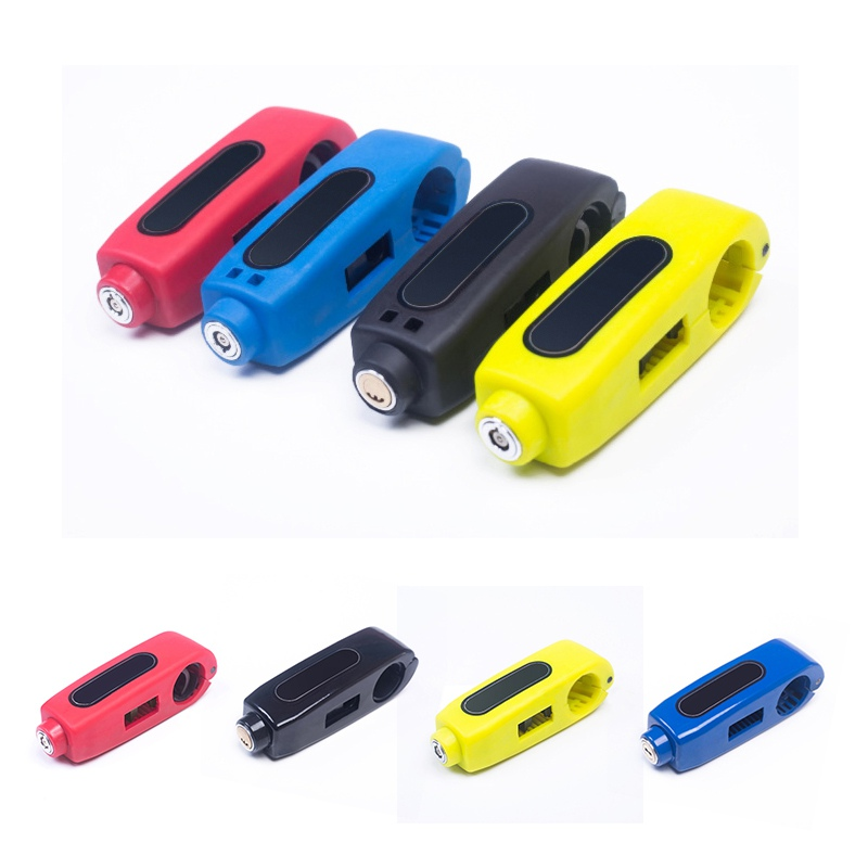 Motorcycle Anti-Theft Security Lock Motorcycle Scooter Bicycle Motorbike Handlebar Throttle Grip Security Lock New