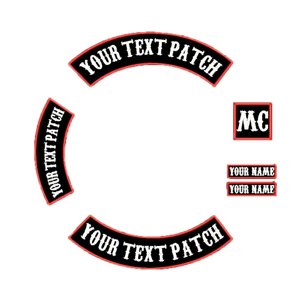 Tooth Custom Iron-on Patch With Name Personalized Free