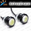 Новый Ультра-Тонкий 6 Вт Орел Лампы Глаз LED Для Дневного света DRL Противотуманных фар Водонепроницаемый Внешний автомобильных орел глаза автомобиль