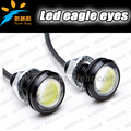 New Ultra-Thin 6W Eagle Eye Lamp LED For Daytime Running Light DRL Lamp Fog Waterproof Exterior automotive eagle eyes for car