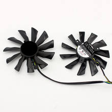 PLD10010B12HH 95mm GTX780Ti 780 750Ti 660 760 Fan PLD10010S12HH 40mm 12V 0.40A 4Pin for MSI R9 270X 280X 290 290X Twin Frozr B(China)