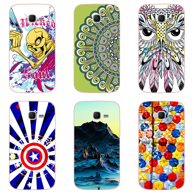Hard plastic cases colour Mobile phone shell For Samsung Galaxy Ace 3 i679 Hard  Phone Case colorful painting skin shell