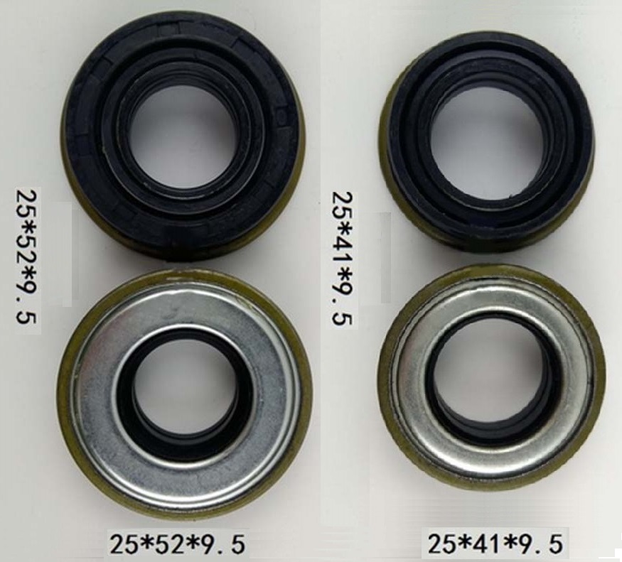 Free Shipping 3pcs 25X41X9.5 3pcs 25X52X9.5 25*41*9.5 25*52*9.5 Gasoline Engine cultivator oil seal suit for Chinese brandFree Shipping 3pcs 25X41X9.5 3pcs 25X52X9.5 25*41*9.5 25*52*9.5 Gasoline Engine cultivator oil seal suit for Chinese brand