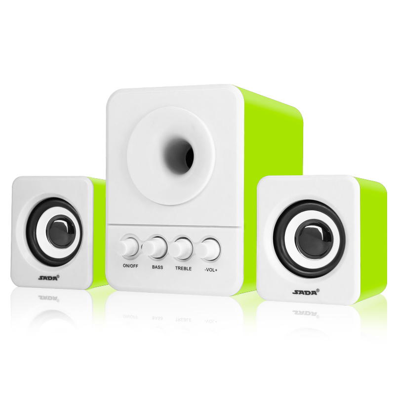 Usb Multimedia στερεοφωνικά ηχεία - Φορητό ήχο και βίντεο - Φωτογραφία 5
