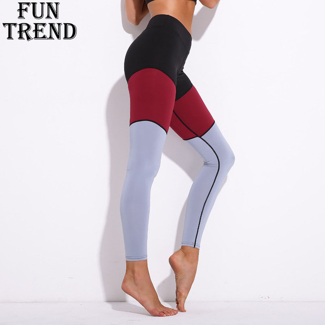 Sport Pants Women Fitness Yoga Pants Sexy Yoga Leggings High Waist Running  Tights Women Compression Sport 62a79aa8e050