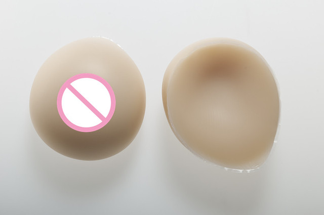 B Cup Teardrop Shape Silicone Breast Forms 600g//pair Shoulder Straps Fake Boobs