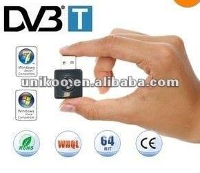 Mini USB DVB-T Stick RTL2832U Elonics E4000 Radio P160 SDR Radio 64 - 1700 MHz