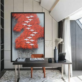 Hand painted canvas oil paintings handmade Wall art Pictures for living room modern abstract cuadros quadro Abstract_0026