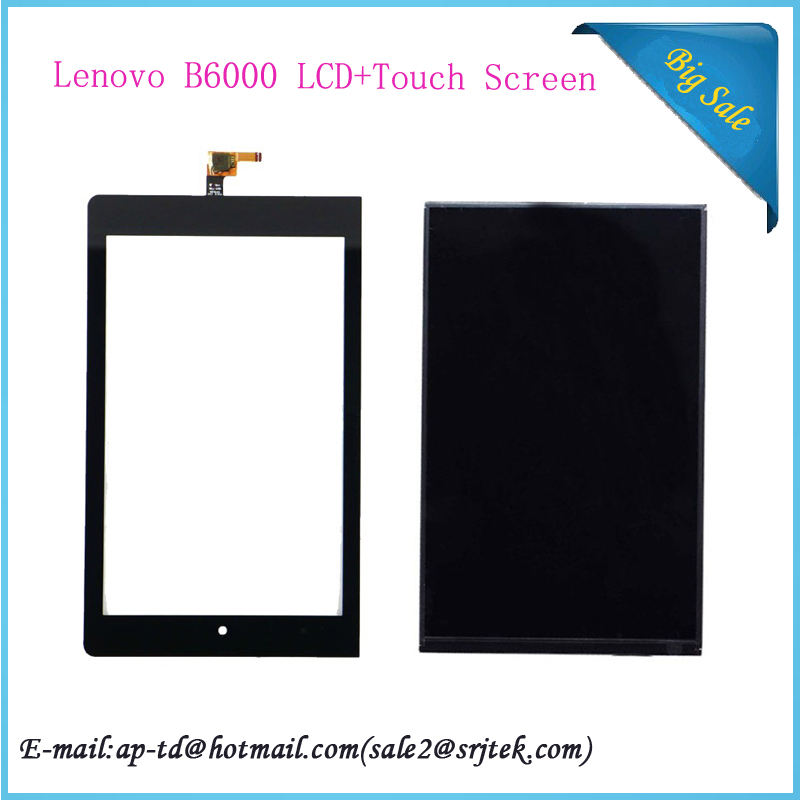 Origianl 8 inch For Lenovo YOGA 8 Tablet B6000 LCD Display+Touch Screen Digitizer Sensor Full Assembly 100% Tested