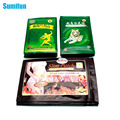 40Pcs Vietnam Pain Relief Patch+40Pcs Red Tiger Balm+40Pcs Slimming Patch Lose Weight Muscle Massage Health Care D0004