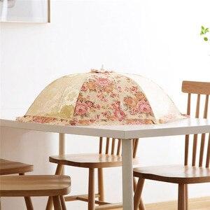 Image 3 - Кухонный зонт для еды, накидка на кухонную помощь, для пикника, барбекю, для вечеринки, нахлыстовое москитное Сетчатое покрытие, накидка на стол, защитный стол jardin