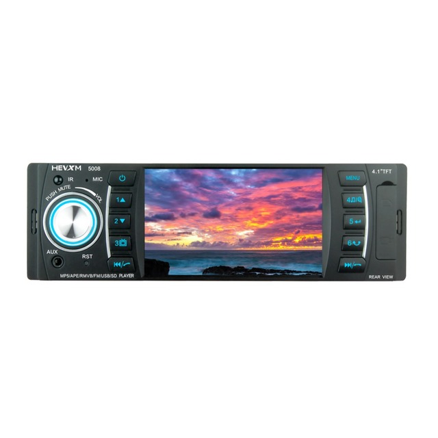 "HEVXM 5008 Universal Car MP5 player4.1"" Car Autoradio Video/Multi Media MP5 Player mp4 Car Stereo audio player with displa"