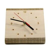 Personnalisé Flex Temps Horloge Élégant Minimaliste Table En Bois Horloge Vie Personnalisé Charnière En Bois Horloge De Bureau Moderne Simple En Bois Horloge