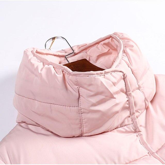 Toonies Elegant Style Parkas Woman Coats 2017 Winter Slim Straight Thick Turtleneck Cotton Down Jacket 4 Colors Long Overcoat