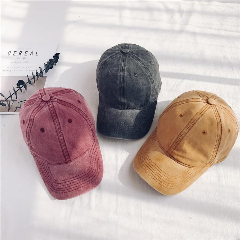 Casual Blank Denim Jeans   Baseball     Cap   Men Women Washed Cotton Sport Hip-pop Cowboy Bone   Cap   Cool Adjustable Dad Hats
