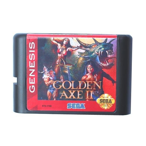 Sega MD game card – Golden Axe II 2 for 16 bit Sega MD game Cartridge Megadrive Genesis system