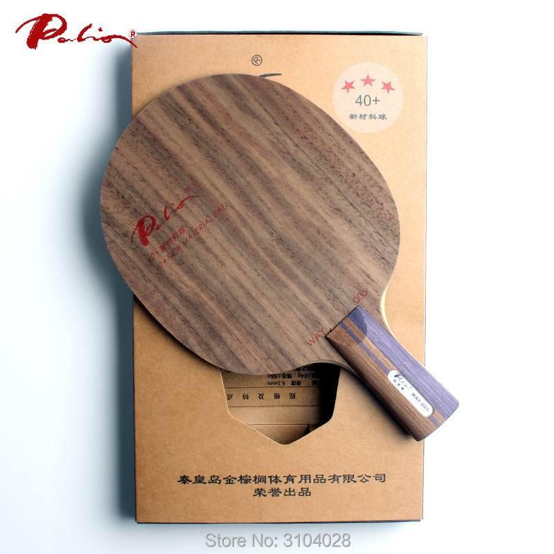 Palio resmi way005 cara 005 blade tenis meja kayu murni untuk 40 + - Olahraga raket - Foto 4