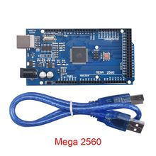 Мега 2560 R3 Мега 2560 REV3 ATmega 2560-16AU доска + USB Совместимость для MKS GEN V1.4/BIGTREETECH GEN V1.0/Ramps 1,4 Ramps 1,5
