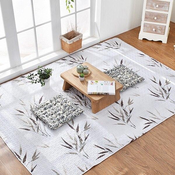 Japanese Tatami Mat Cotton Carpet Living Room Bedroom Rugs ...