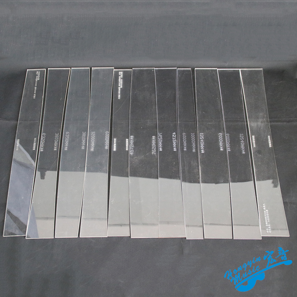 Guitar Panel Back Plate Arc Scale Acrylic Template Acoustic Classical Guitar Making Tool Accessories
