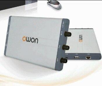 OWON 60MHz 10M record length 500M Sample Rate PC Oscilloscope virtual oscilloscope VDS2062 осциллограф owon hds1021m