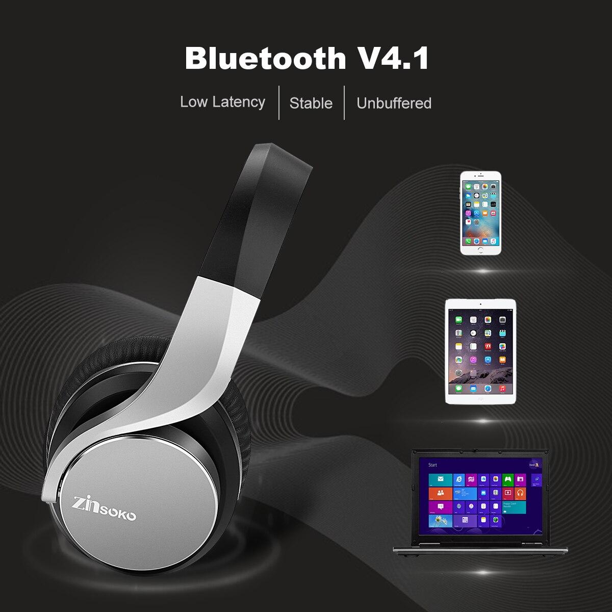 Zinsoko B021 Teilen Mich Drahtlose Bluetooth Kopfhörer Power Bass ...