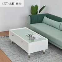 [InYard]Living Angle tea table/multi function storage, living room tea table, glass, Nordic design, low table