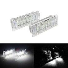 ANGRONG LED 1 paia Vano Piedi luce di Cortesia del Portello Interni Luce per BMW E92 E81 E87 F20 E60 1 3 5 Serie