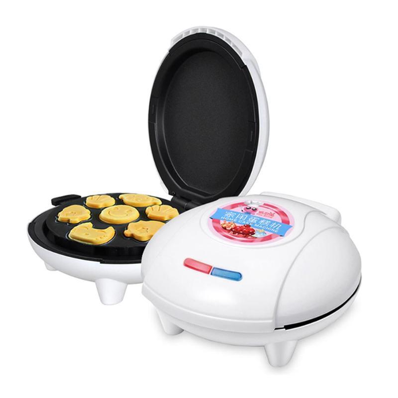 Cake Maker Muitifunctional  Electric Cake Breakfast Maker Machine Household Toaster Waffle Maker Food Processor with EU Plug wavelets processor