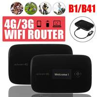 LEORY Lte Pocket Wireless Wifi Router Car Mobile Wifi Hotspot Wireless Modem Router 4G With Sim Card Slot