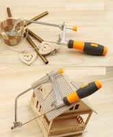 Diy Handmade Mini Multifunction Jig Saw Woodworking Saws Pull Flower Wire Saw Small Saws Handsaw U