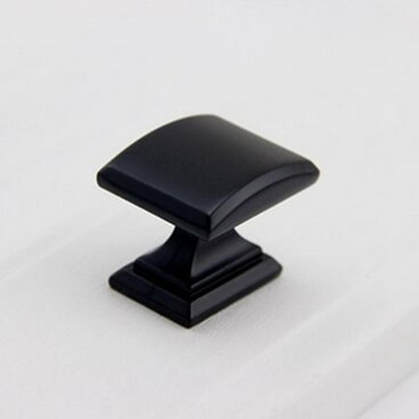 128mm moderne einfache schwarz möbel griffe matte schwarz ...