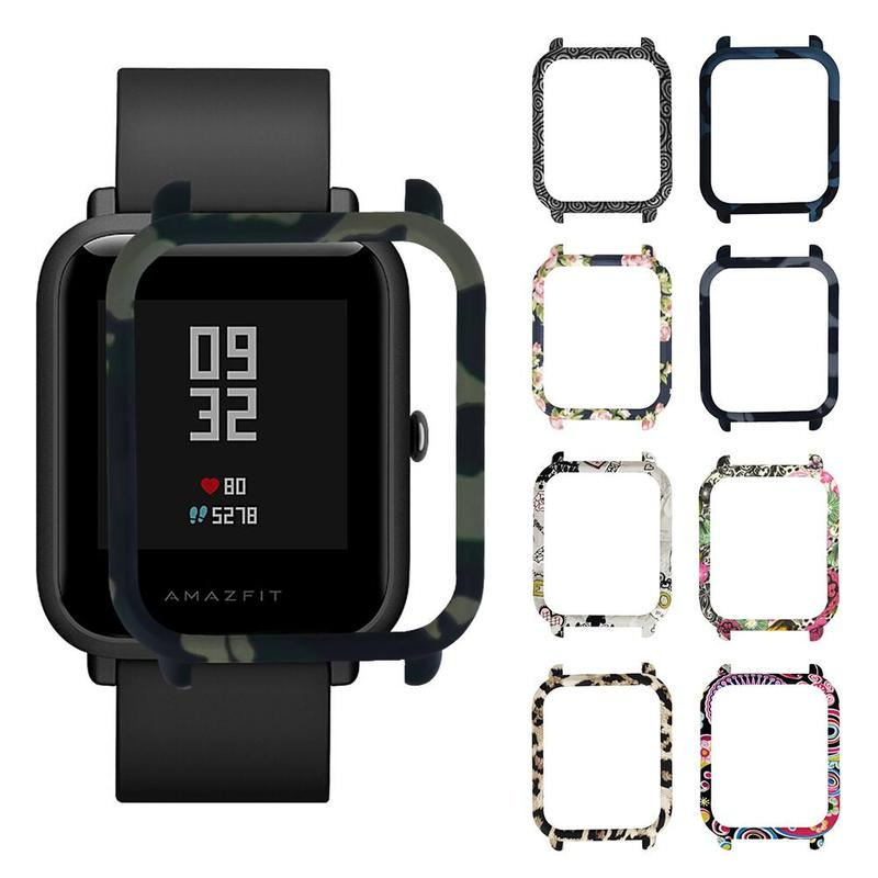 Cocotina Smart Watch Accessories PC Case For Xiaomi Huami Amazfit Bip Bit Youth Edition (Pace Lite) Camo Protective Case LBK7989 protective case cover for xiaomi amazfit bip bit pace lite youth watch hard pc shell for huami amazfit watch accessories