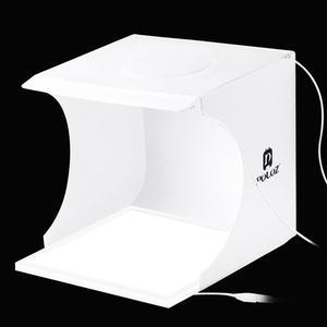 Image 3 - PULUZ Mini 22.5 LED Photography Shadowless Bottom Light Lamp Panel Pad +2LED Panels 20CM lightbox Photo Studio Shooting Tent Box