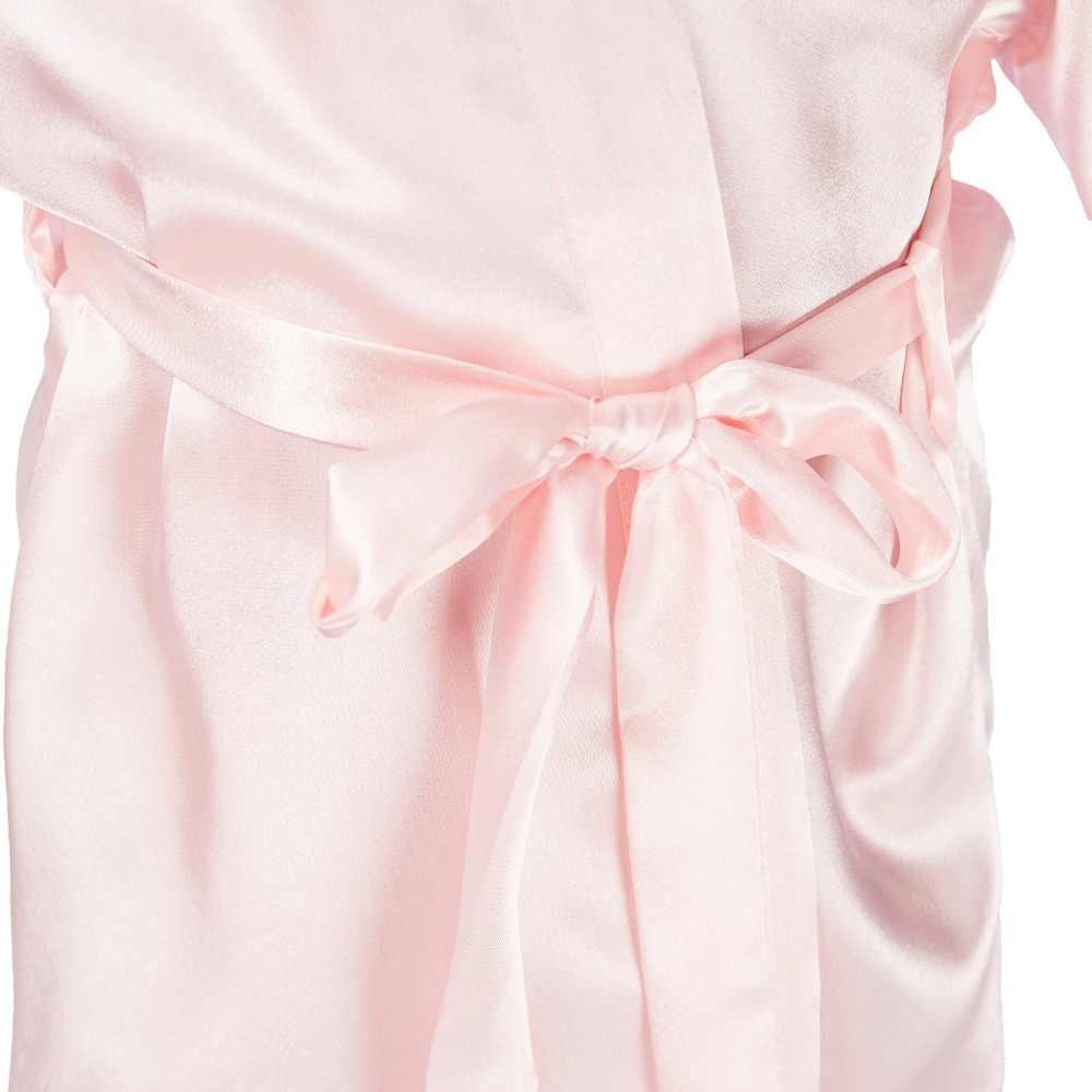 새로운 도착 잠옷 아이 여름 실크 일본 기모노 카디건 가운 아기 목욕 가운 수건 잠옷 소녀 pijamas 아이 크기 M-4XL