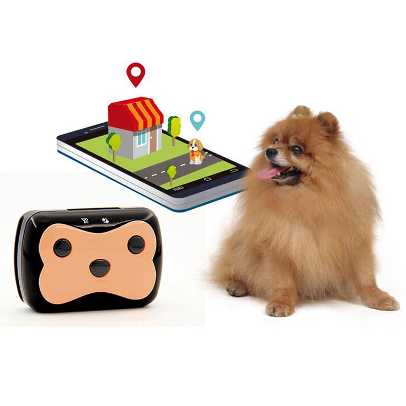 Pet smart micro dog anti lost locator, animal collar, anti lost satellite locator, tracker, tracker waterproof hot sale waterproof pet gps leds flash collar anti lost tracker wifi safety alarm