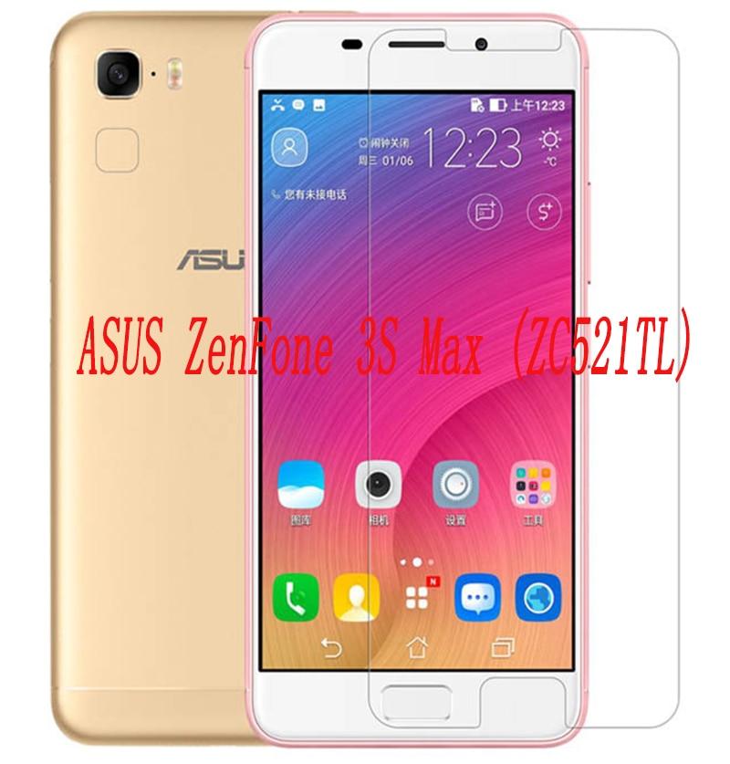 2 шт смартфон закаленное стекло 9H Взрывозащищенная защитная пленка для экрана протектор мобильного телефона для ASUS ZenFone 3S Max ZC521TL