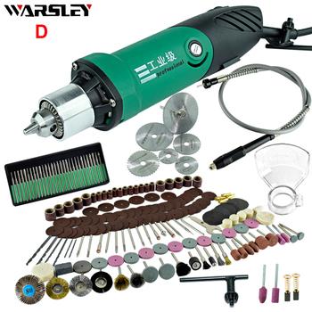 6mm 480W High Power Mini wiertarka elektryczna z 6-stopniową zmienną prędkością dla narzędzi obrotowych Dremel z elastyczny wałek i tanie i dobre opinie WARSLEY Mini Drill Komercyjne Producenci 50-60Hz 55NM Carving Grinding Sharpening Cutting Cleaning WG001 1 1KG 220 v 30000 rpm