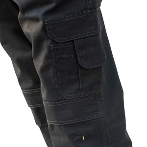 Image 5 - Mens Heavy Duty Cargo Pants Multi Pockets Canvas Pant Casual Work Wear Military Tactical Long Full Length Trousers ID627