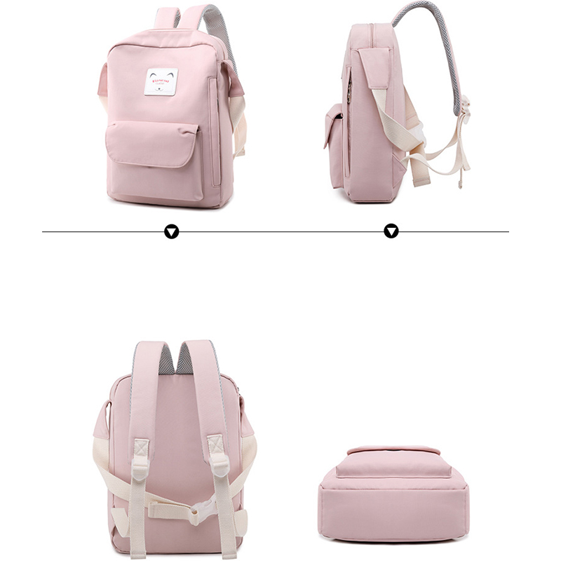 Fashion-Nylon-Women-Small-Backpack-Simple-Design-Lady-Daily-Shoulder-Bags-Girls-Travel-Laptop-Bagpack (4)