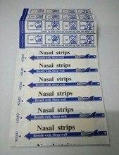 (69*19mm) tiras nasais anti ronco 200 pçs/lote, fitas nasais contra ronco, pare de roncar, melhor respiração, adesivo de nariz