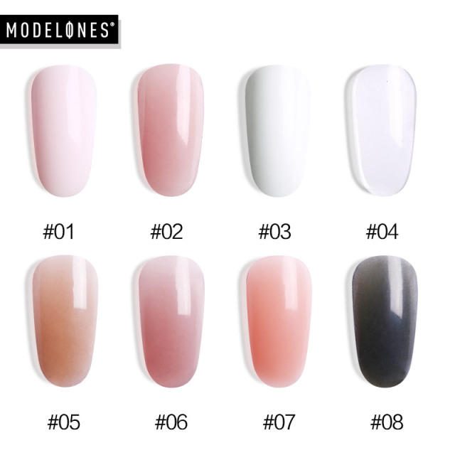 30g Poly gel Nail Acrylic Pink  jelly