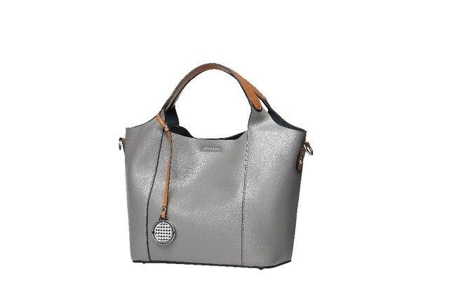2018 New Cowhide Handbags Mother Bag Handbag Lady Shoulder Messenger Business