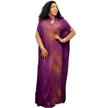 Vestido africano largo musulmán para mujer, vestido africano de 150cm de largo, 130cm de largo, a la moda