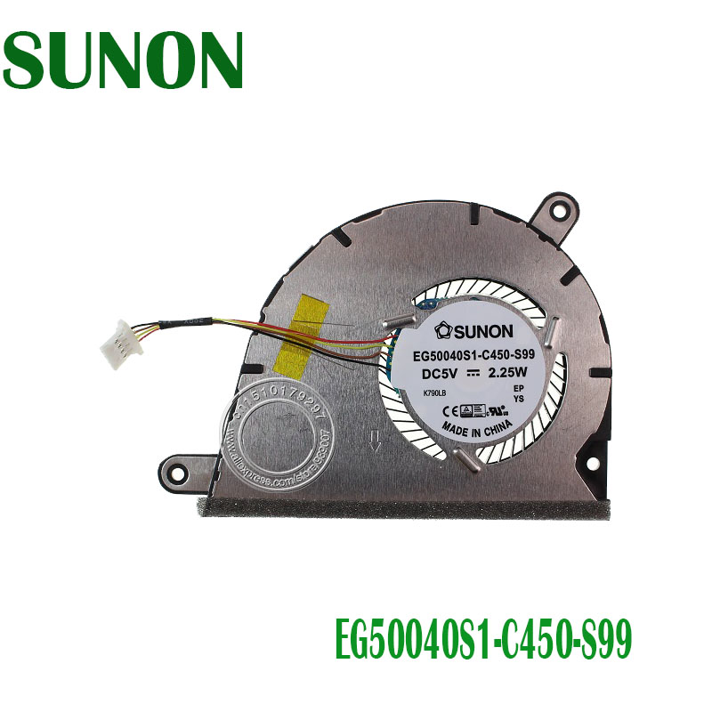Novo original genuíno para lenovo yoga 2 13 EG50040S1-C450-S99 refrigerador do ventilador de refrigeração dc28000e4s0 dc28000e4p0