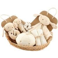 Cocostyles Персонализированные Популярные Изысканный подарок для малышей корзины с детские мягкие Игрушки для маленьких детей Погремушки Игру