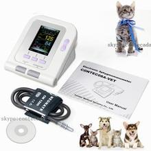 CONTEC08A-VET цифровой Ветеринарный монитор кровяного давления NIBP манжеты, собака/кошка/Домашние животные 2018, программное обеспечение