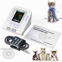 2018 Digital Veterinary Blood Pressure Monitor NIBP cuff,Dog/Cat/Pets CONTEC08A VET,Software