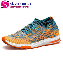 Breathable Mesh Summer Men Casual Shoes Slip On Male Fashion Footwear Slipon Walking Unisex Couples Shoes Mens Colorful